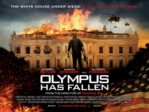 Падение Олимпа / Olympus Has Fallen (2013, США)